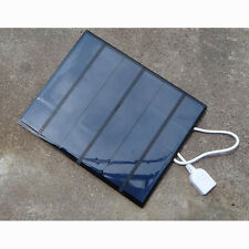 Portable 6V 3.5W Solar Panel Battery Charger Power Bank For Mobile Phone/MP3/MP4