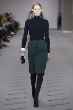 New Balenciaga Ribbed Underwire Turtleneck Runway Sweater