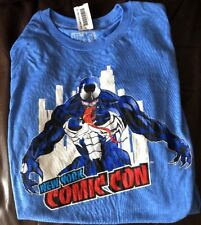2018 NYCC NEW YORK COMIC CON EXCLUSIVE VENOM SKYLINE SHIRT L NEW WITH TAGS NICE