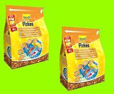 Tetra Pond Flakes 2x4 Litro Mangime principale in Forma di fiocchi per