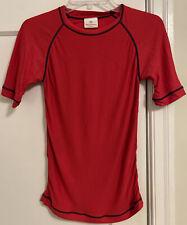 Hanna Andersson S/S Mid Sleeve Stretch Swim Shirt Unisex Boy Girl Sz 130 (8)!