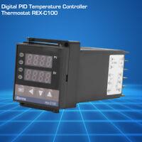 New 110V/220V REX-C100 Digital PID Temperature Controller RELAY & SSR Thermostat