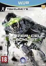 Splinter Cell Blacklist nintendo  WII U nuovo