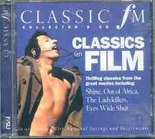 CLASSICS ON FILM: CLASSIC FM CD (2004) ROSSINI MOZART BACH BERLIOZ PUCCINI ETC