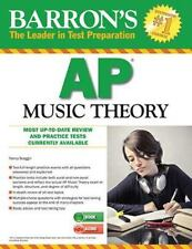 Barron's AP Music Theory with MP3 CD, 2nd Edition by Nancy Scoggin (2014, Paper…
