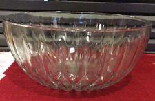 "Vintage Lead Crystal Serving Bowl ~ 10"" Across 4-3/4"" Tall  Beautiful"