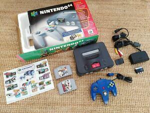 Nintendo 64 Consola PAL en caja con Expansion Pack + juegos Envio Combinado LEER