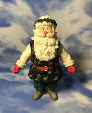 """Htf 6"""" Pp Potpourri Press Wim Schimmer Santa Claus Figurine Garland Crown Guc"""