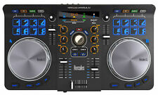 Hercules Universal DJ USB MIDI Bluetooth DJ Controller w/Pads+Built-In Interface