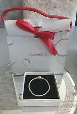 Pandora Pulsera serpiente encanto plata genuino 17cm * con Caja de Regalo & Bolsa *