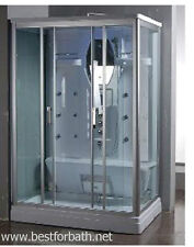 Two  Person Steam Shower  ,Aromatherapy, Bluetooth,6 Year US Warranty