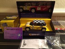 SCALEXTRIC MINI COOPER: John Cooper Challenge No6 Limited Edition C2485A NEW