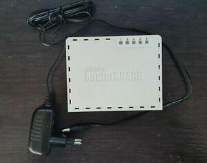 MikroTik RouterBoard 5 Port RB 750 Series