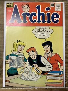 Archie #133/Silver Age Comic Book/1st Cricket O'Dell/FN