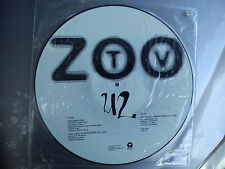 "U2 -""ZOO TV""- AMERICAN PROMO ONLY PICTURE DISC (NORTH AMERICAN TOUR 1992)"
