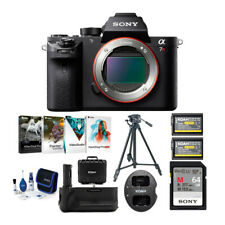 Sony Alpha a7R II Full-Frame Mirrorless Camera (Body Only) & Accessories Bundle