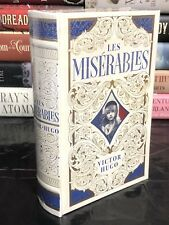 LES MISERABLES by VICTOR HUGO Leatherbound, Unabridged & BRAND NEW!