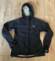 Women's The North Face Zip Black Waterproof Windbreaker Jacket Small Nylon