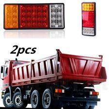 1 Pair 36 LED Ute Rear Trailer Tail Lights Caravan Truck Boat Car Indicator Lamp