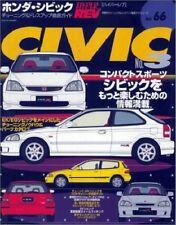 USED Honda Civic No.3 Hyper REV 66 Tuning Dress Up Guide Car Book Japan Japanese
