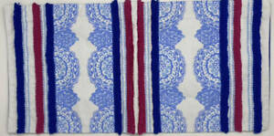 Pottery Barn Teen Lilly Pulitzer Move It or Lose It Ikat Lumbar Pillow Cover