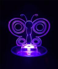Butterfly Flashing Night Light - Small Novelty Gift for Kids