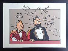 Tiré à part  Tintin ETAT NEUF
