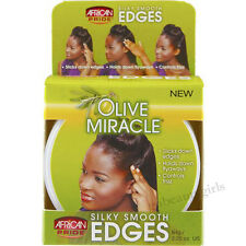 OLIVE SILKY SMOOTH EDGE CONTROL HAIR GEL AFRICA'S BEST