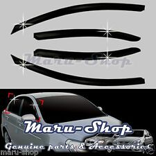 Smoke Door Window Vent Visor Deflector for 10~11 Hyundai Accent 4DR