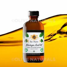 Moringa Seed Oil 4 oz ~ 100% Pure by Gye Nyame Holistics