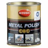 Autosol Original Métal Chrome Aluminium Pâte à polir 750ml Bidon