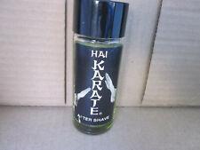 Hai Karate After Shave 4 oz bottle - 98% full - free ship