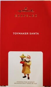 Hallmark 2021 Toymaker Santa Ornament