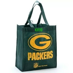Green Bay Packers NFL Reusable Shopping/ Grocery bag