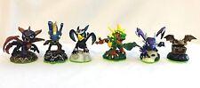 Skylanders Lot Of 6 Action Figures Loose Set