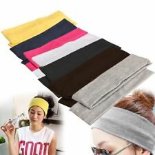 Headband Wide Elastic Stretch Cotton For Women Hair Band Headdress Accessories