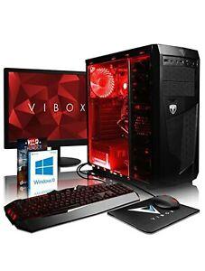 VIBOX SET GAMING AMD - 32GB RAM - 3 TB HD - MONITOR - TASTIERA - MOUSE - CUFFIE