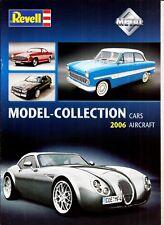 Catalogue Revell Métal Collection 2006 - Car - Aircraft