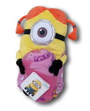 "Despicable Me Minion Pillow Hugger And Throw Blanket (40"" x 50"")"