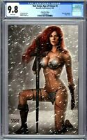 Red Sonja: Age of Chaos #2 CGC 9.8 Szerdy VIRGIN Variant