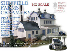 40015 Sheffield Farms Creamery LASER Kit HO.. Railway Heritage Models - ON SALE!