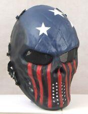 Airsoft American Flag Skull Mask *UK SELLER & FREEPOST*