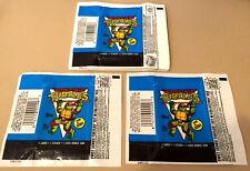 Teenage Mutant Ninja Turtles TMNT - Cartoon S2 100x Wax Pack Card Wrappers 1989