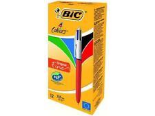 3 X Bic 4 Colores Fina Bolígrafo Punta de 0.8 mm Original (azul/negro/rojo/verde)