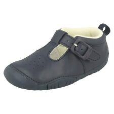 Startrite Baby Jack Boys Shoes In Navy Blue, Size Uk 2 Infant Width F