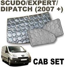 Scudo / Expert silver cab screens (new model 2007+)