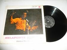 HARRY BELAFONTE - Belafonte Returns To Carnegie Hall - Rare 1960's UK 12-track