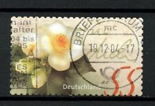 Flowers Used German & Colonies Stamps
