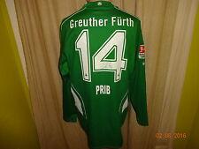 SpVgg Greuther Fürth Jako Matchworn Langarm Trikot + Nr.14 Prib  Signiert Gr.M/L