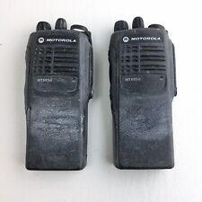 New listing Lot of 2 Motorola Mtx850 800 Mhz Privacy Plus Radio Aah25Ucc6Gb3An - L02